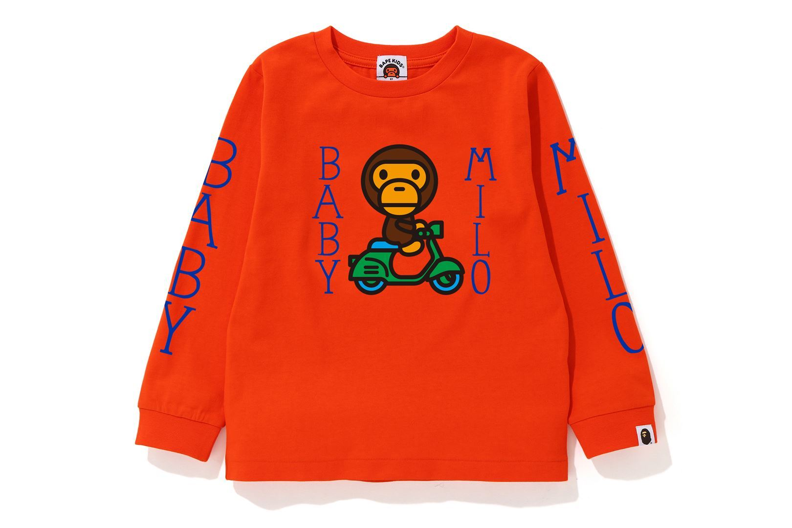 BABY MILO SCOOTER L/S TEE_a0174495_13200566.jpg