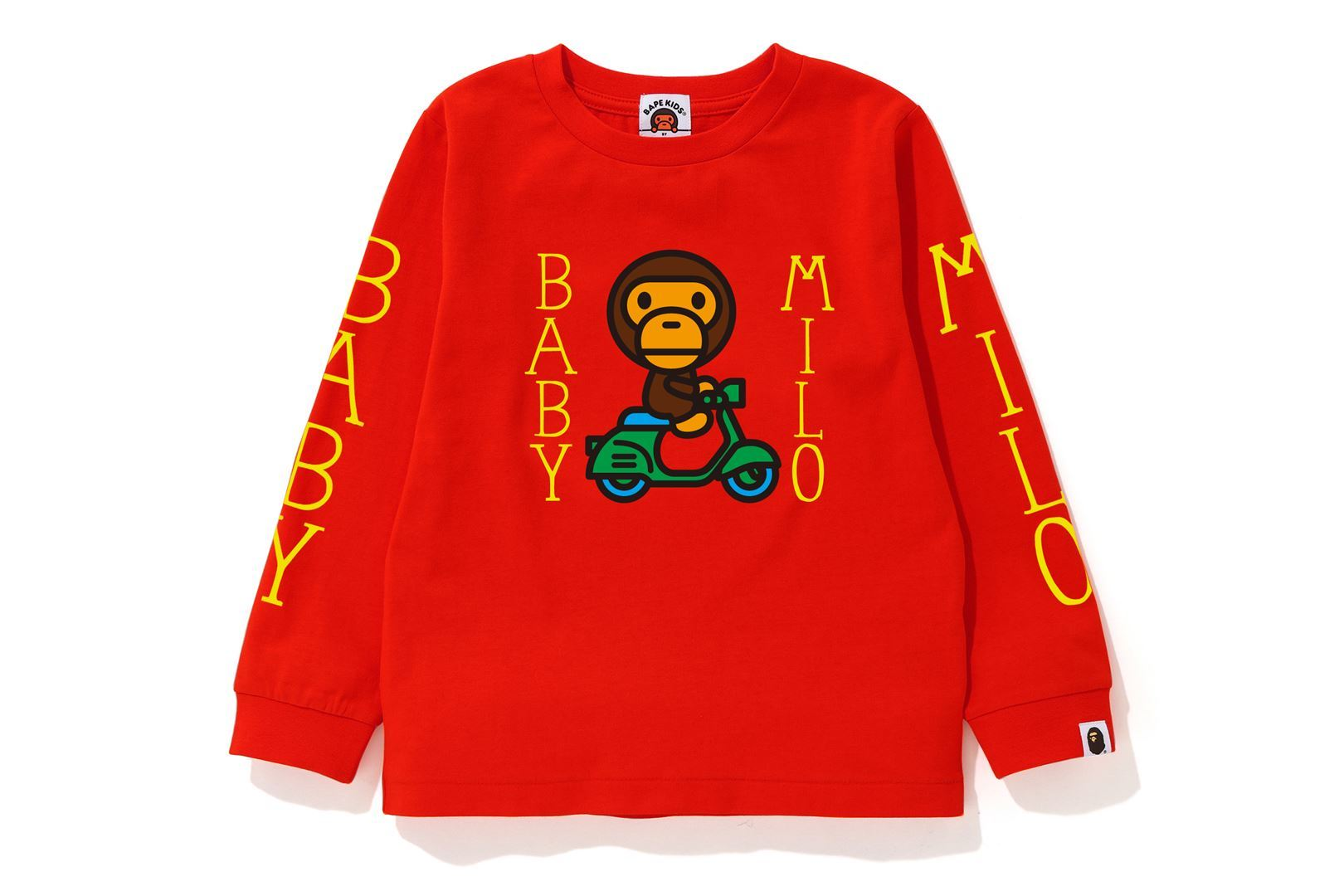 BABY MILO SCOOTER L/S TEE_a0174495_13201128.jpg