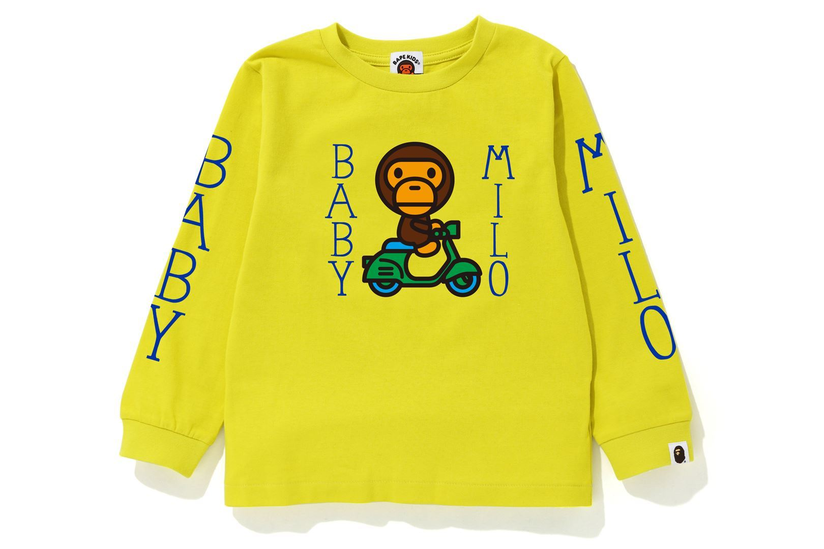 BABY MILO SCOOTER L/S TEE_a0174495_13202289.jpg