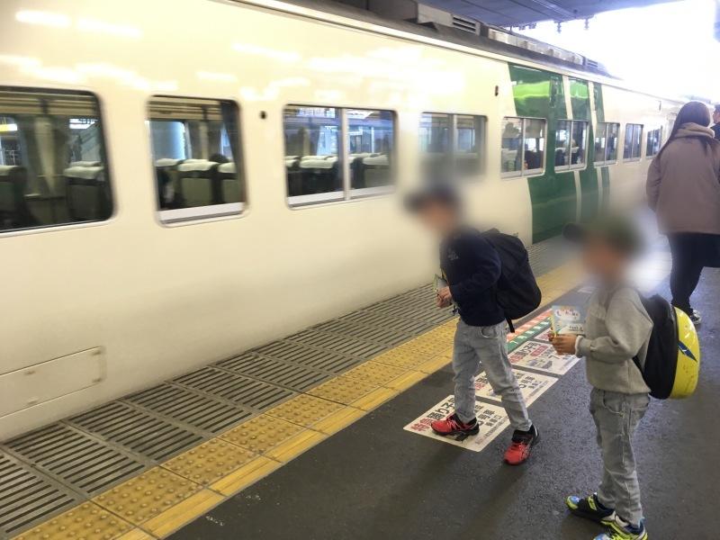 小田原駅にてロマンスカーMSEと踊り子と大雄山線。_d0367998_20133228.jpeg