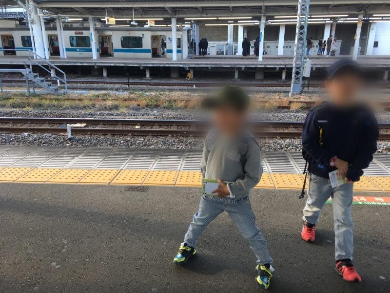 小田原駅にてロマンスカーMSEと踊り子と大雄山線。_d0367998_20134487.jpeg