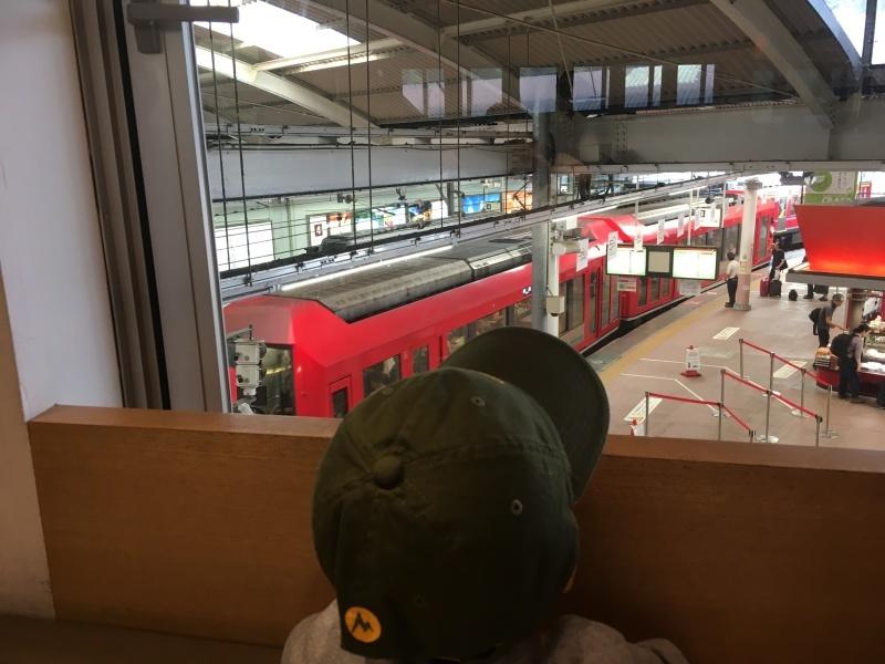 9月に出会った青い箱根登山鉄道。_d0367998_20541142.jpeg