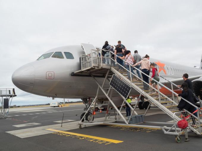 2019メルボルン・タスマニア・シドニーvol.6~飛行機でタスマニア島へ~_f0276498_23283401.jpg