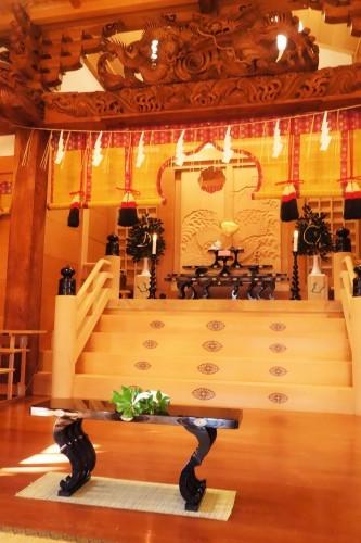 秋田市・蛭子神社様、八足案  2019.12.28_c0213599_10272191.jpg
