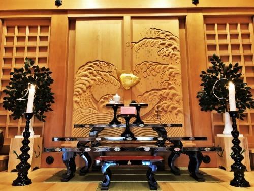 秋田市・蛭子神社様、八足案  2019.12.28_c0213599_12122987.jpeg