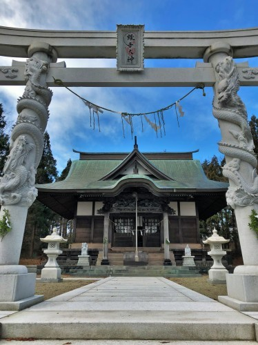 秋田市・蛭子神社様、八足案  2019.12.28_c0213599_12125831.jpeg