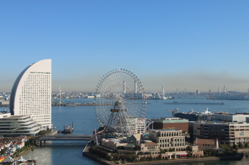 ニューオータニイン横浜プレミアム1809号室から日の出を拝む・2:Canon EOS 70D_c0075701_11082291.jpg