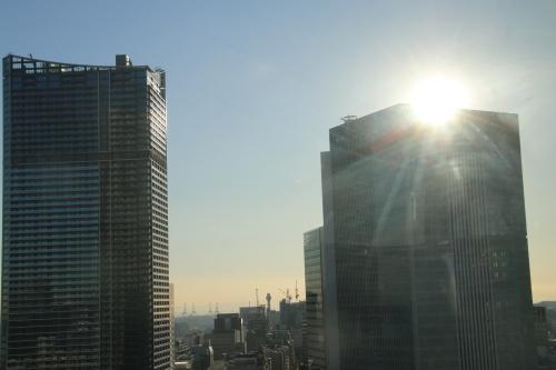 横浜みなとみらい21の日の出_c0075701_11095692.jpg