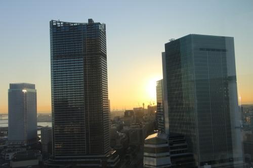 横浜みなとみらい21の日の出_c0075701_11105082.jpg