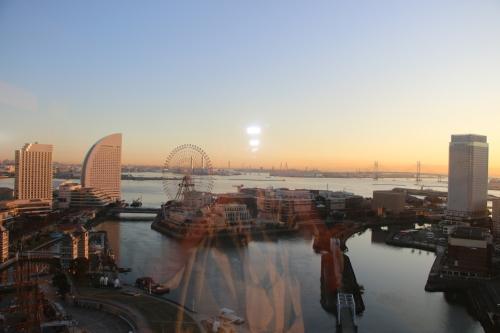 ニューオータニイン横浜プレミアム1809号室から日の出を拝む・2:Canon EOS 70D_c0075701_11124468.jpg