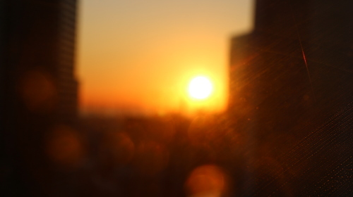 横浜みなとみらい21の日の出_c0075701_11132945.jpg