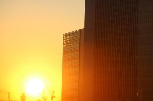 ニューオータニイン横浜プレミアム1809号室から日の出を拝む・2:Canon EOS 70D_c0075701_11143413.jpg