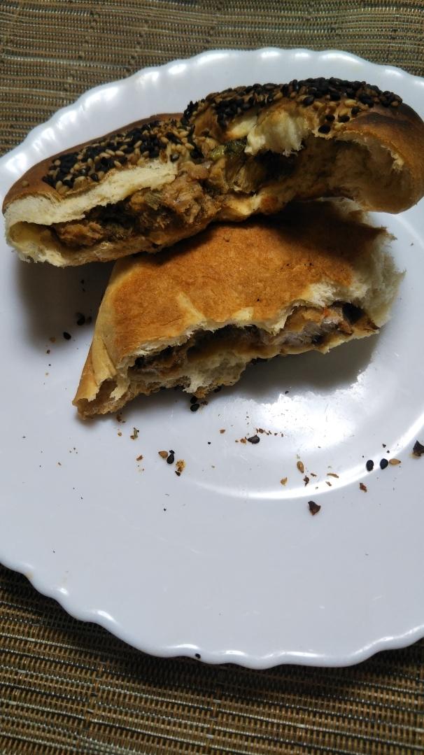 ブランの肉味噌サラダチキンパン_f0076001_21451260.jpg