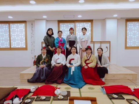 2019年 歳納め大邱 ⑦韓国伝統文化体験館で茶道体験_a0140305_02255053.jpg