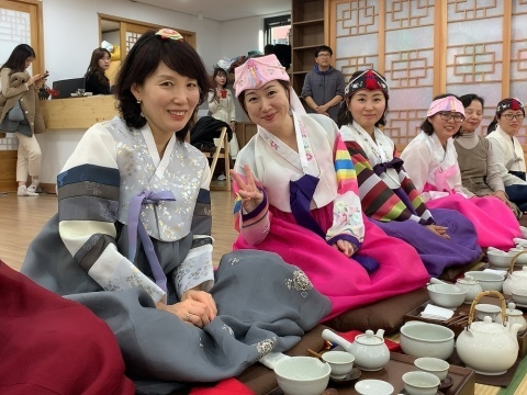 2019年 歳納め大邱 ⑦韓国伝統文化体験館で茶道体験_a0140305_02332259.jpg