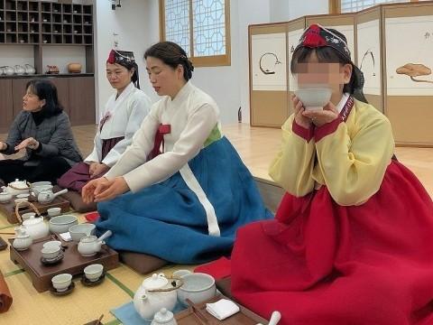 2019年 歳納め大邱 ⑦韓国伝統文化体験館で茶道体験_a0140305_02524785.jpg