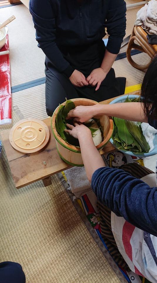 初めての飯寿司作りに挑戦!!_a0126418_20064570.jpg