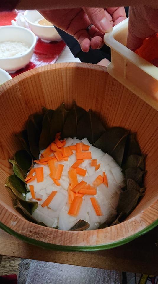 初めての飯寿司作りに挑戦!!_a0126418_20070285.jpg