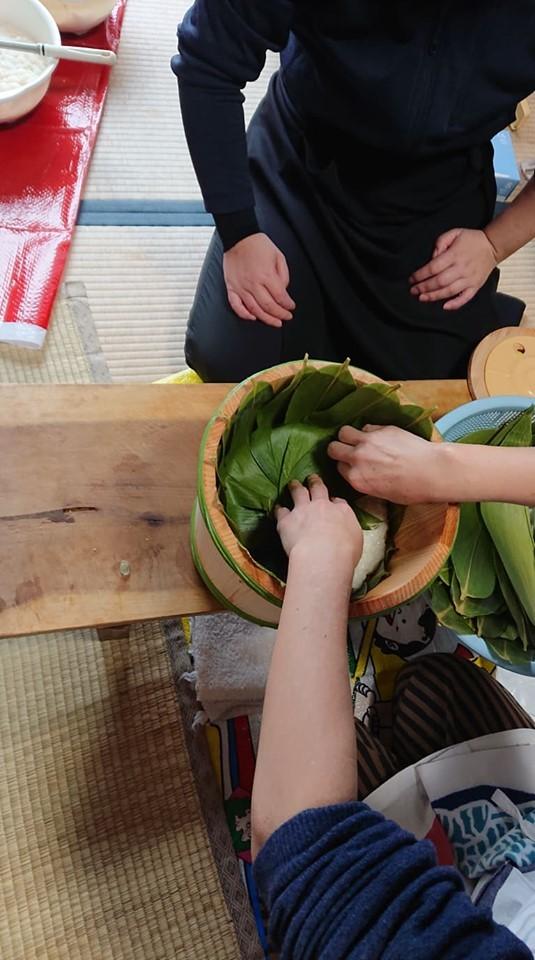 初めての飯寿司作りに挑戦!!_a0126418_20105842.jpg