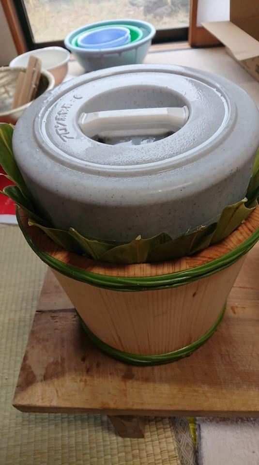 初めての飯寿司作りに挑戦!!_a0126418_20113511.jpg