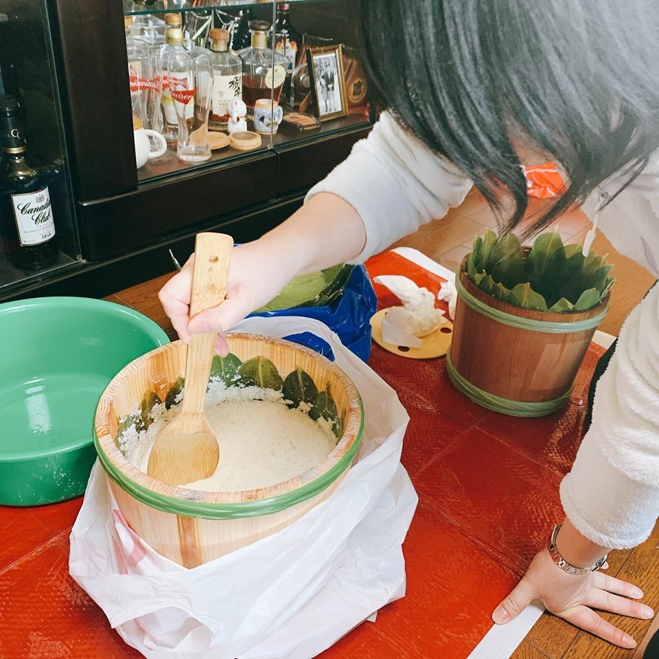 初めての飯寿司作りに挑戦!!_a0126418_20164474.jpg