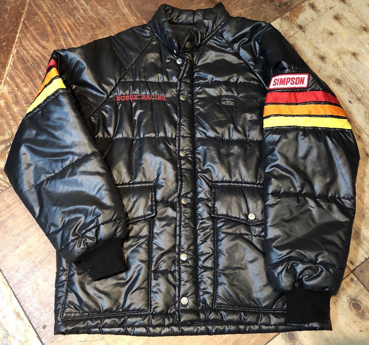12月30日(月)入荷!!80s simpson シンプソン 中綿入り レーシング ジャケット!_c0144020_18091602.jpg