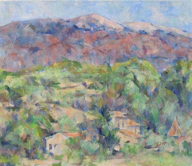 ヴァントゥー山と丘の家_c0236929_23524351.jpg