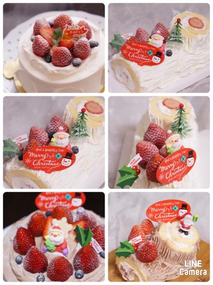 2019.12.24クリスマスケーキ記録🎄_c0169360_07500828.jpg