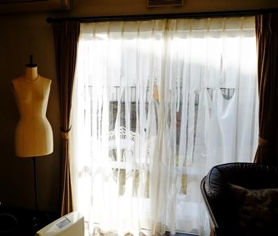 ビリビリカーテンがきれいになりました♪_b0194861_14032044.jpg