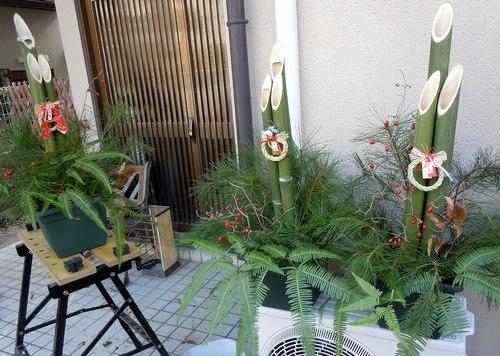 年末はいつものように門松作り_b0102572_10573055.jpg