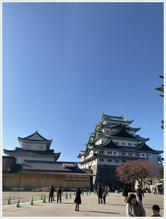 愛知県(名古屋周辺)でのお出かけ その6 毎回定番のコース名古屋城 (11月29日)_b0175688_00012614.jpg