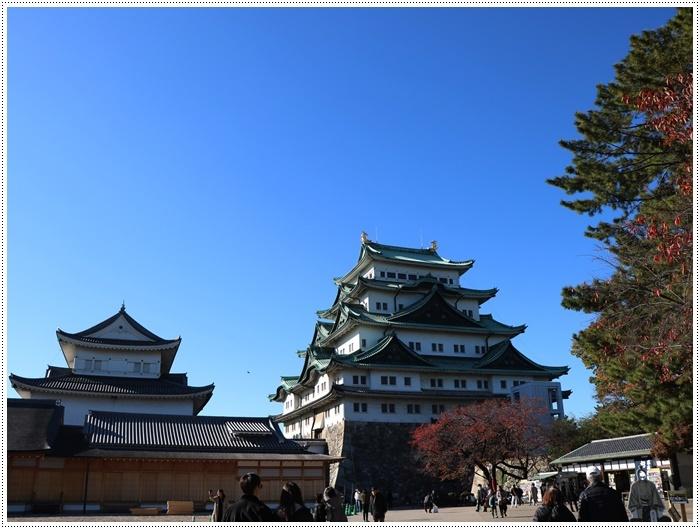 愛知県(名古屋周辺)でのお出かけ その6 毎回定番のコース名古屋城 (11月29日)_b0175688_00013905.jpg