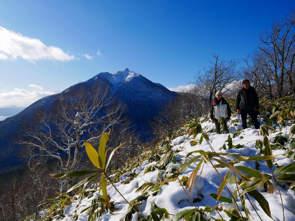 イチャンコッペ山と幌平山、2019.12.29_f0138096_16243725.jpg