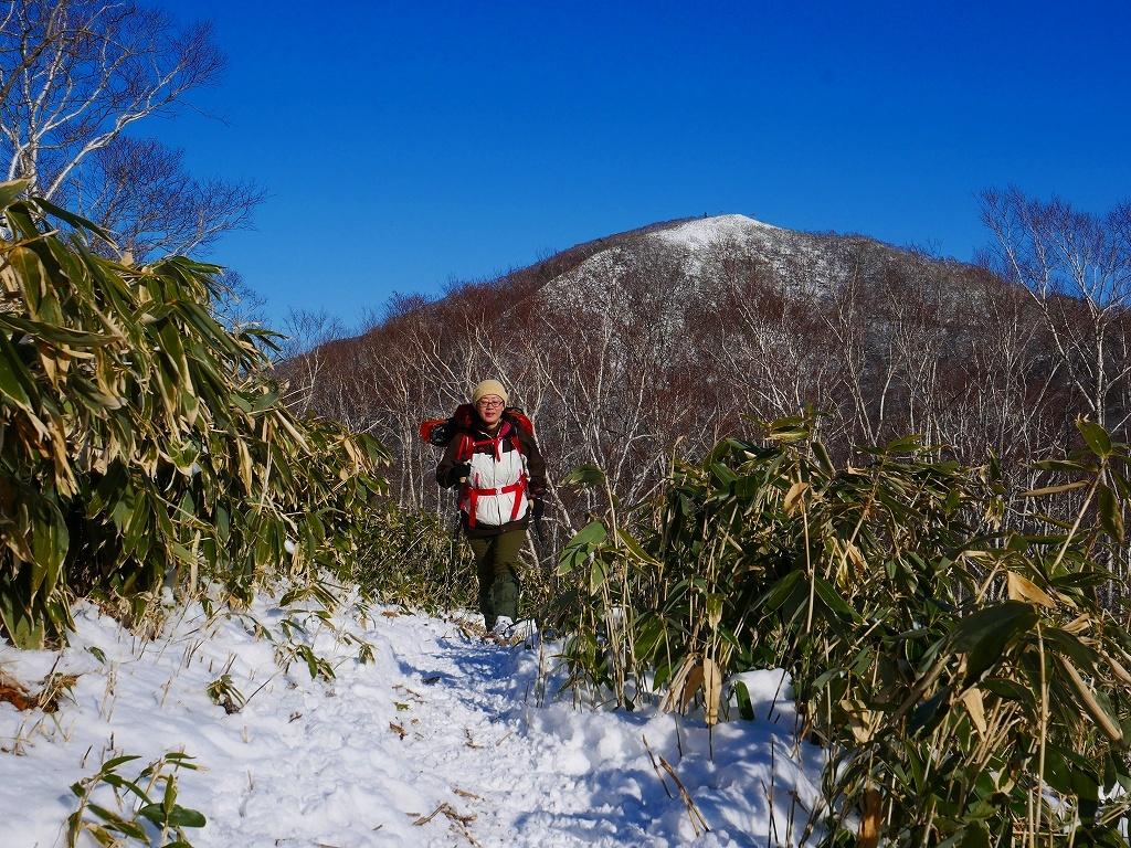 イチャンコッペ山と幌平山、2019.12.29_f0138096_16245058.jpg