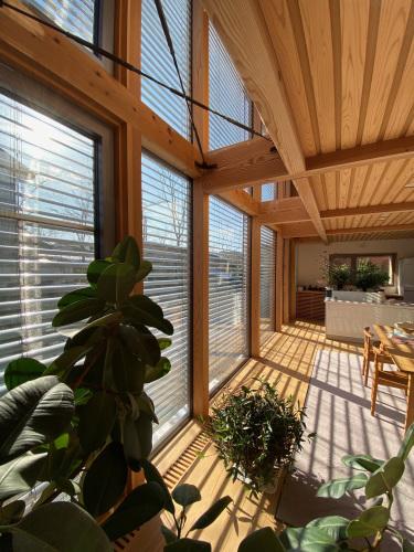 Q1住宅モデル能代:快晴12:30_e0054299_13562379.jpg