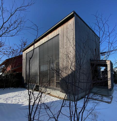 Q1住宅モデル能代:快晴12:30_e0054299_13563542.jpg