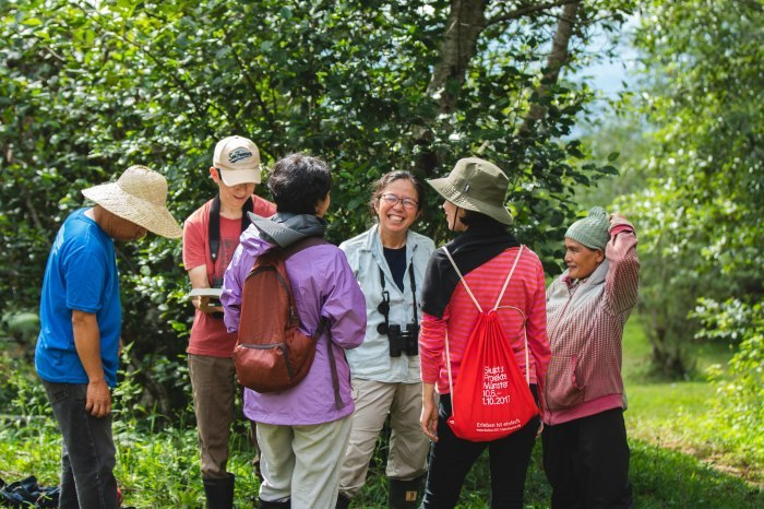 コーヒーの森で野鳥観察ワークショップ開催_b0128901_22043484.jpg