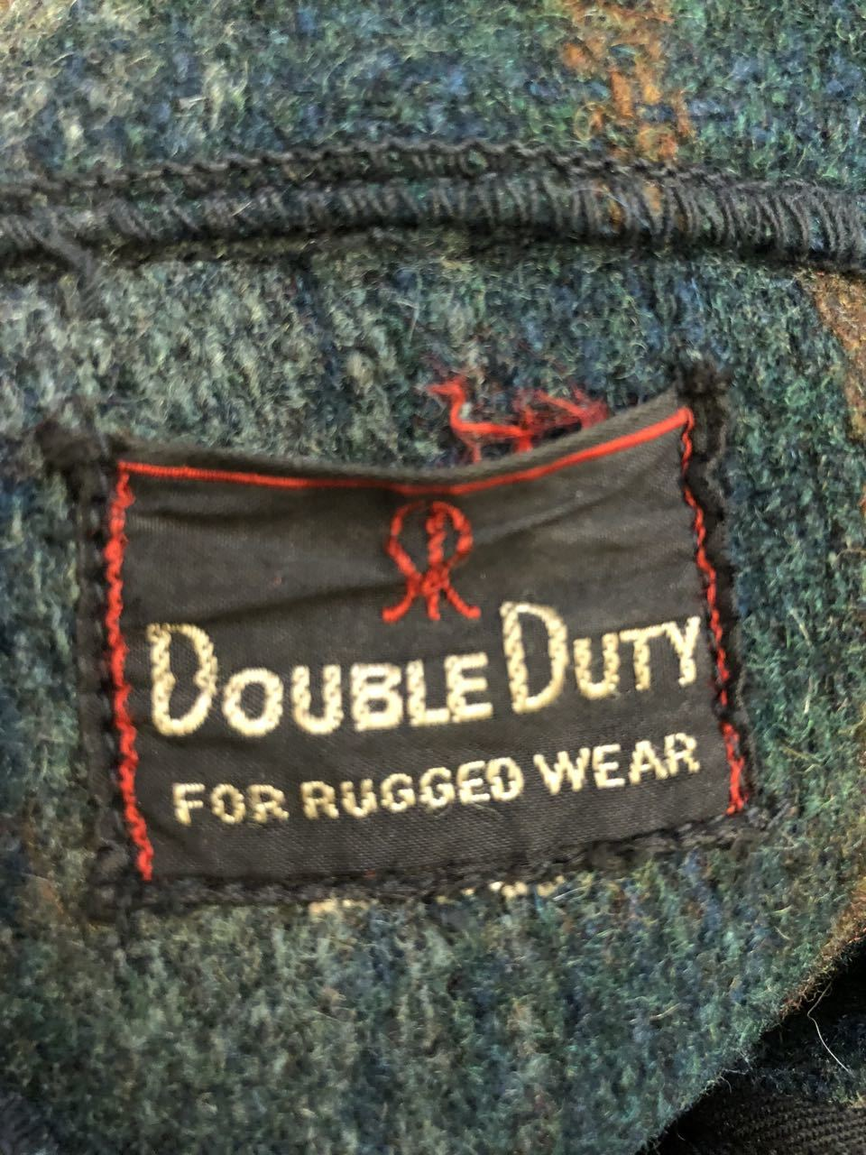 1月2日(木)新春初売り商品! 40s Double Duty wool onbre Jacket!! CROWN ZIPPER!_c0144020_13281938.jpg