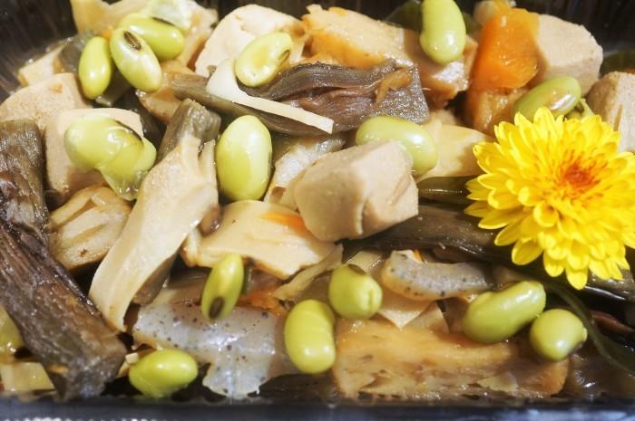 ■今日も副菜作り^^!【9品目具の具材入り 季節の作り置き煮物】_b0033423_22545681.jpg