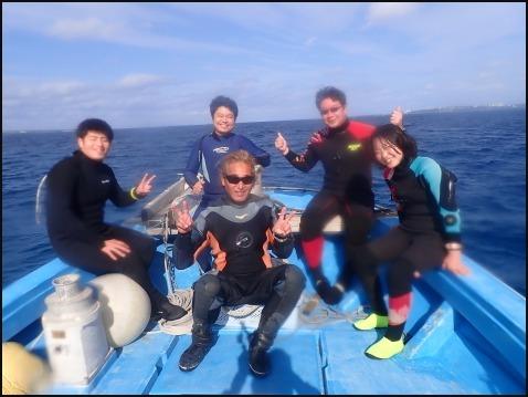12月28日今年最後の水納島ダイビング_c0070933_23110721.jpg