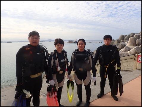 12月28日今年最後の水納島ダイビング_c0070933_23141081.jpg