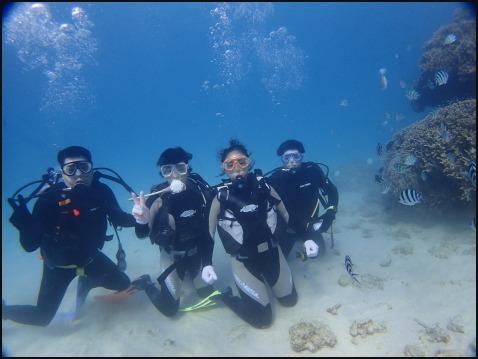 12月28日今年最後の水納島ダイビング_c0070933_23153963.jpg