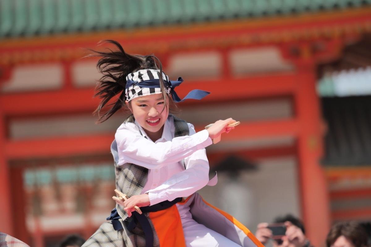2019京都さくらよさこい1日目神宮道スペシャルステージその16(いちえもん)_a0009554_10075060.jpg