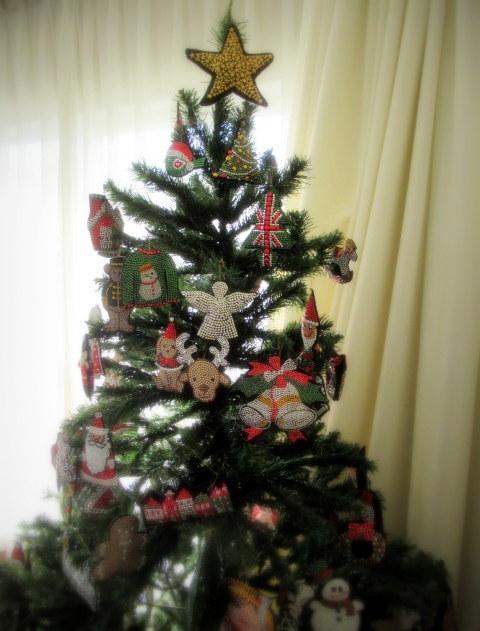 年の瀬 * メタルビーズ教室で作るクリスマスと干支のモチーフ♪_f0236260_01133021.jpg