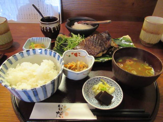 佐久・お料理 いけだ * 美味しいお魚の炭火焼定食♪_f0236260_22413529.jpg
