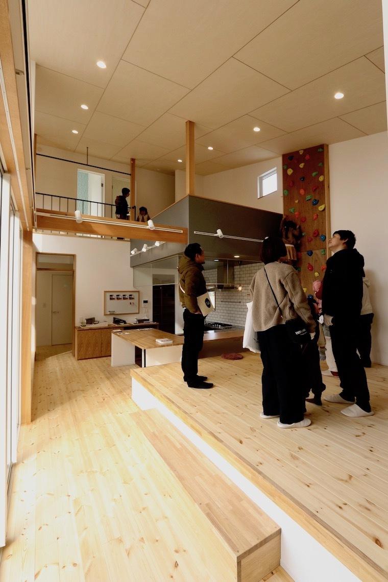 オープンハウス「Stoat house」_f0324766_14212092.jpg