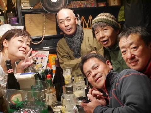 ミキさん、菜BAR KABOSS卒業12・29_c0014967_10452717.jpg