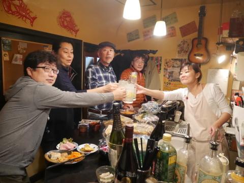 ミキさん、菜BAR KABOSS卒業12・29_c0014967_10455121.jpg