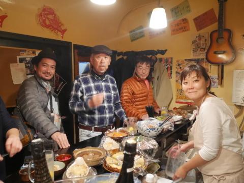 ミキさん、菜BAR KABOSS卒業12・29_c0014967_10461668.jpg