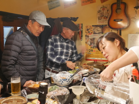 ミキさん、菜BAR KABOSS卒業12・29_c0014967_10462789.jpg